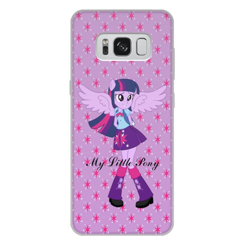 лучшая цена Чехол для Samsung Galaxy S8 Plus, объёмная печать Printio Искорка (девочки эквестрии)