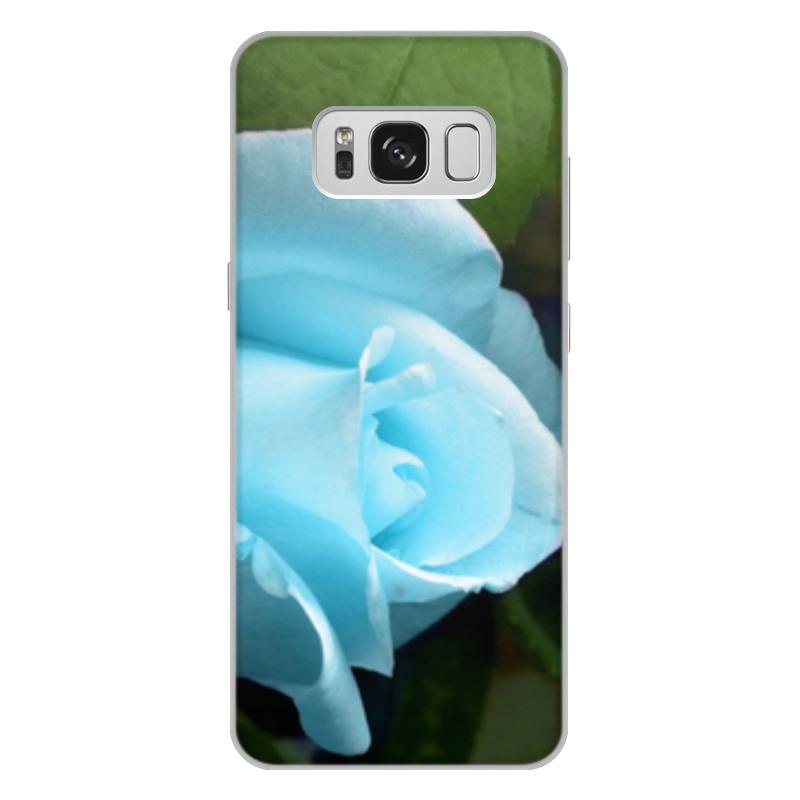 Чехол для Samsung Galaxy S8 Plus, объёмная печать Printio Цветы oem samsung akg s8 headphones earbuds with mic for samsung galaxy s8 s8 plus