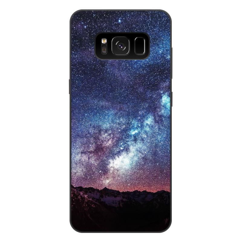 Чехол для Samsung Galaxy S8 Plus, объёмная печать Printio Космос чехол для samsung galaxy s8 объёмная печать printio cycles perfecta альфонс муха