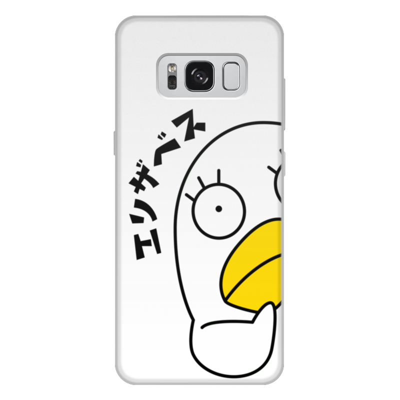 Чехол для Samsung Galaxy S8 Plus, объёмная печать Printio Гинтама. элизабет чехол для samsung galaxy s8 plus объёмная печать printio лотос