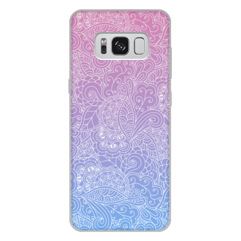 Чехол для Samsung Galaxy S8 Plus, объёмная печать Printio Градиентный узор