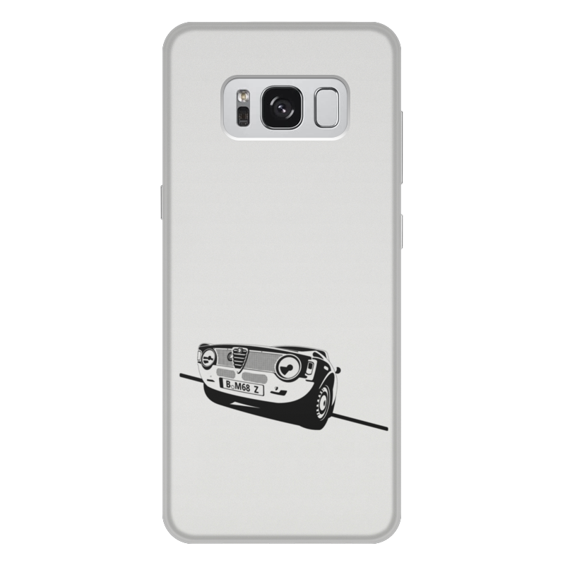 Чехол для Samsung Galaxy S8 Plus, объёмная печать Printio Retro alfa romeo racing