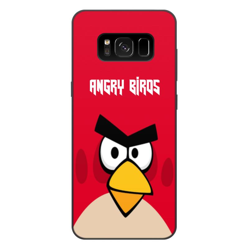 Чехол для Samsung Galaxy S8 Plus, объёмная печать Printio Angry birds (terence) чехол gear4 angry birds pig king для new ipad ipad2 ipab303g