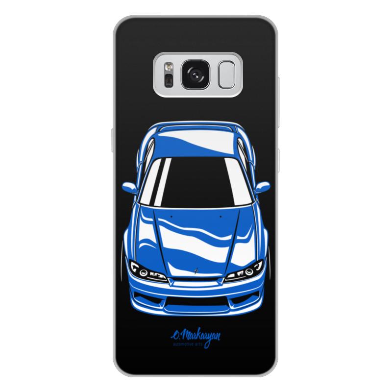 лучшая цена Чехол для Samsung Galaxy S8 Plus, объёмная печать Printio Silvia s15