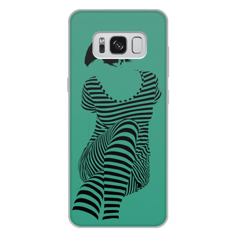 Чехол для Samsung Galaxy S8 Plus, объёмная печать Printio раздвоение личности