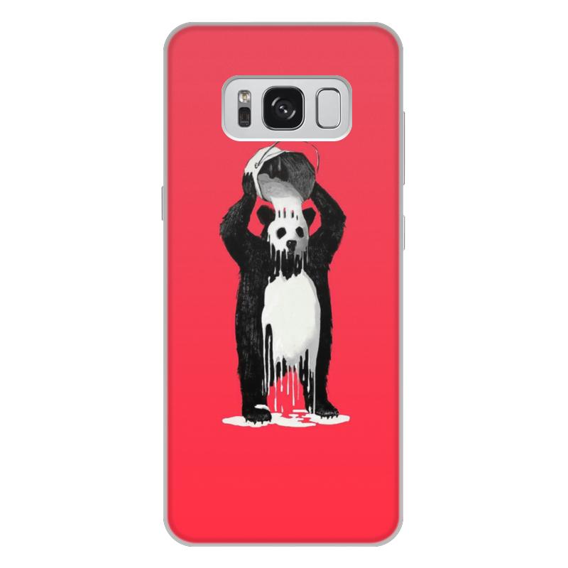 лучшая цена Чехол для Samsung Galaxy S8 Plus, объёмная печать Printio Панда в краске
