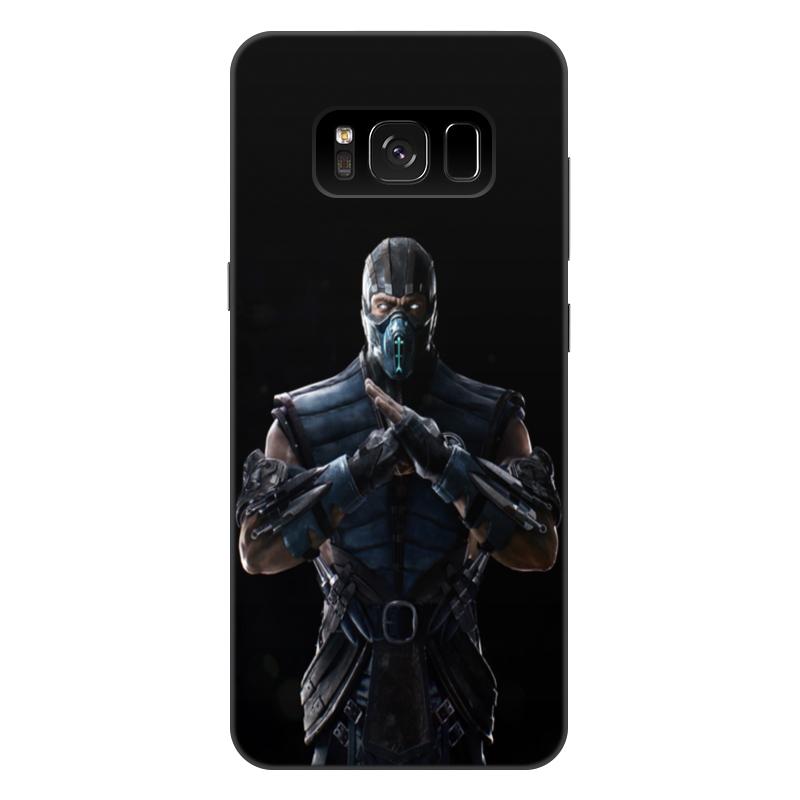 Чехол для Samsung Galaxy S8 Plus, объёмная печать Printio Mortal kombat x (sub-zero) чехол для samsung galaxy s6 edge объёмная печать printio mortal kombat x sub zero