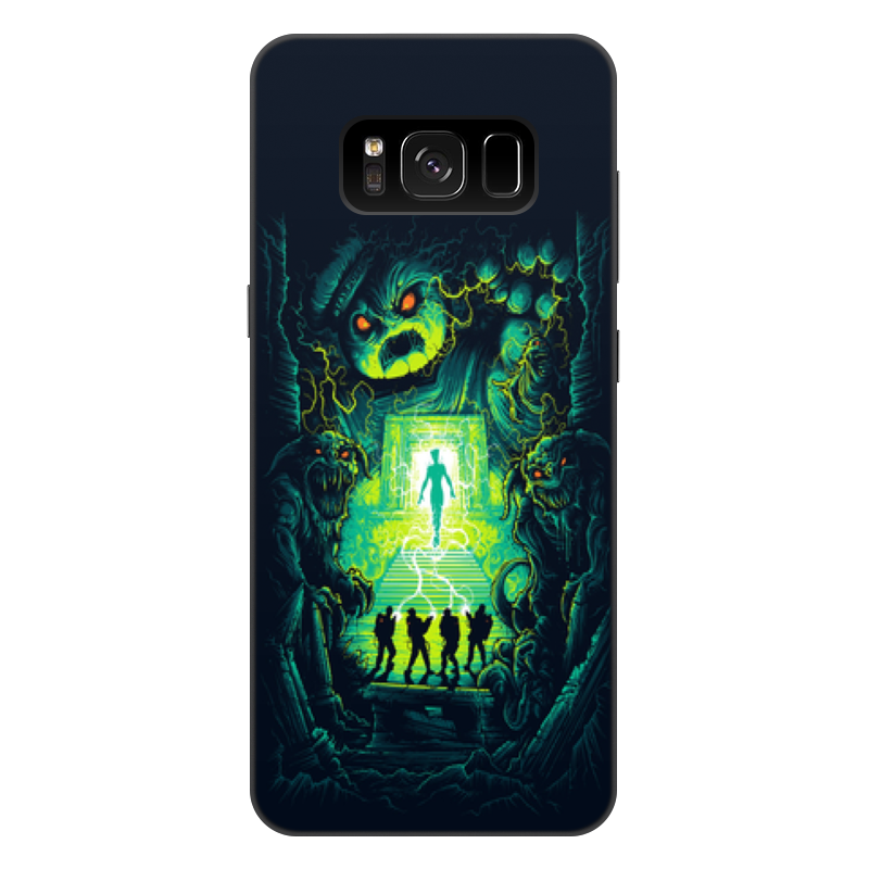 Чехол для Samsung Galaxy S8 Plus, объёмная печать Printio Ghost busters аксессуар чехол накладка для samsung galaxy s8 plus gecko silicone black s geska sam s8 plus bl