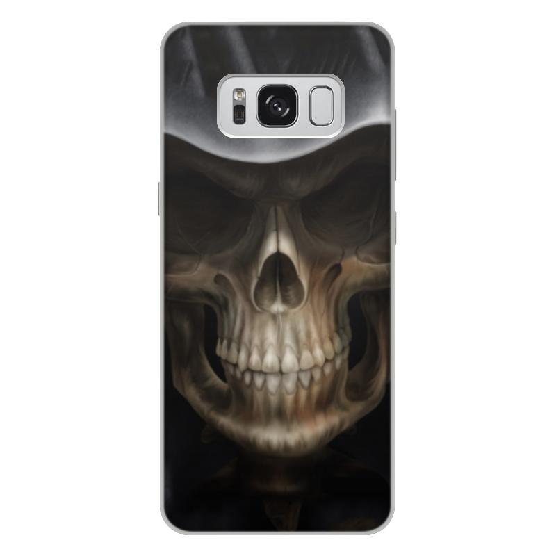 Чехол для Samsung Galaxy S8 Plus, объёмная печать Printio Череп в капюшоне чехол для samsung galaxy s5 printio череп художник