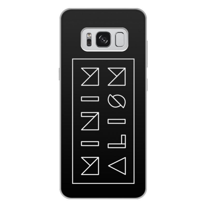 лучшая цена Чехол для Samsung Galaxy S8 Plus, объёмная печать Printio Минимализм