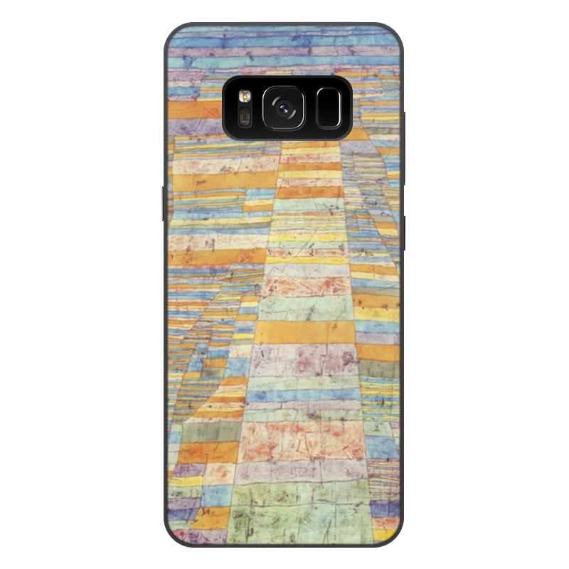 Чехол для Samsung Galaxy S8 Plus, объёмная печать Printio и переулки (пауль клее)