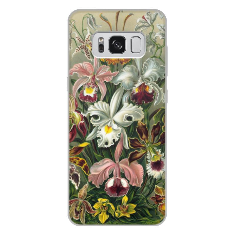 купить Чехол для Samsung Galaxy S8 Plus, объёмная печать Printio Орхидеи (orchideae, ernst haeckel) недорого
