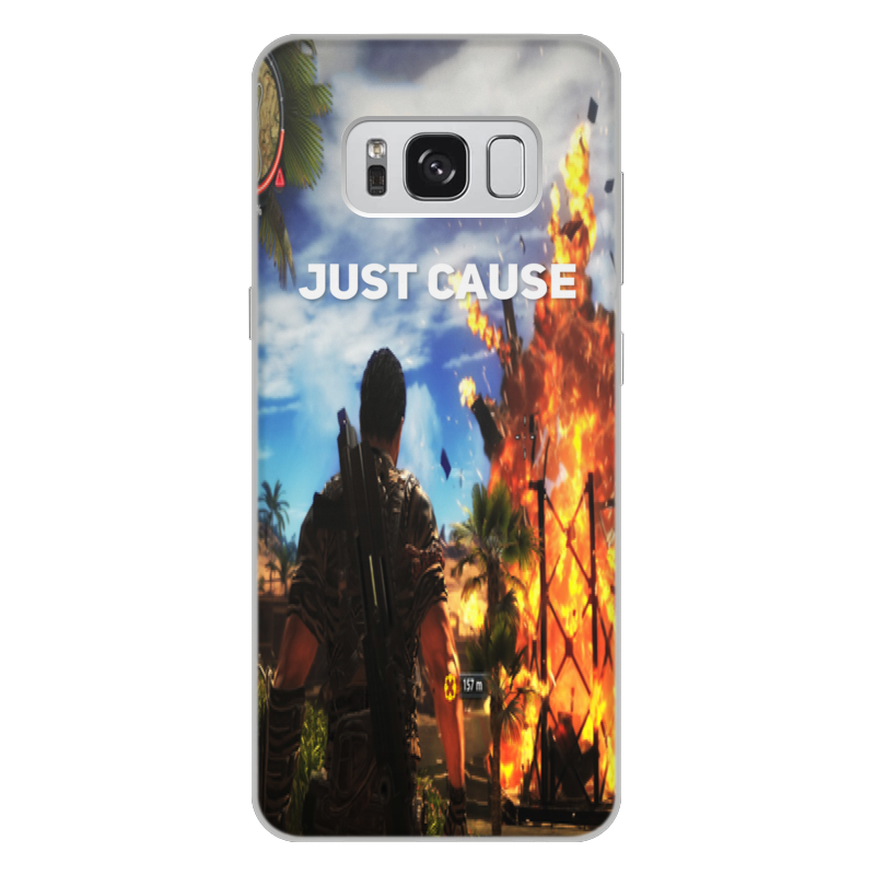 Чехол для Samsung Galaxy S8 Plus, объёмная печать Printio Just cause чехол для samsung galaxy s8 объёмная печать printio любимой на 14 февраля