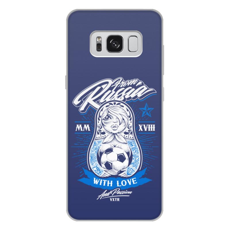 Чехол для Samsung Galaxy S8 Plus объёмная печать Printio Футбол