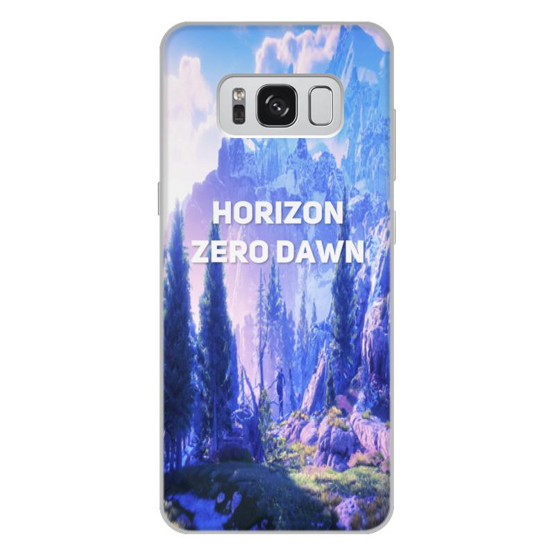 Чехол для Samsung Galaxy S8 Plus, объёмная печать Printio Horizon zero dawn чехол для samsung galaxy s8 объёмная печать printio единорог