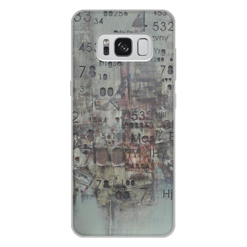 Чехол для Samsung Galaxy S8 Plus, объёмная печать Printio Цифры oem samsung akg s8 headphones earbuds with mic for samsung galaxy s8 s8 plus