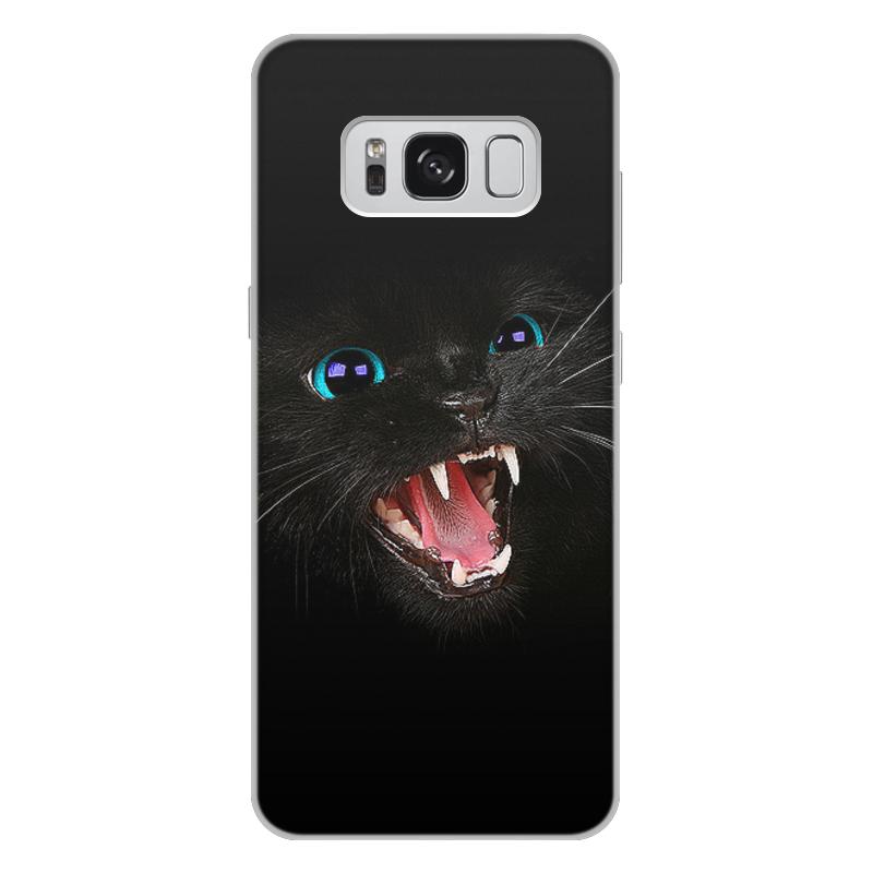 Printio Черная кошка чехол для samsung galaxy s8 plus объёмная печать printio черная пантера