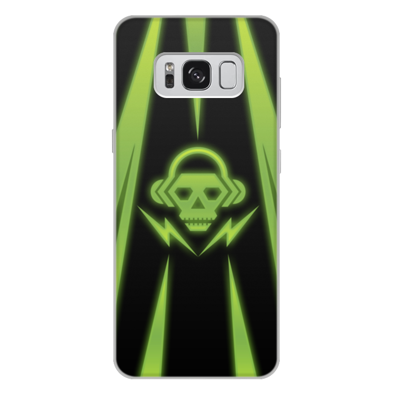Чехол для Samsung Galaxy S8 Plus, объёмная печать Printio Skull plus size skull graphic tunic top