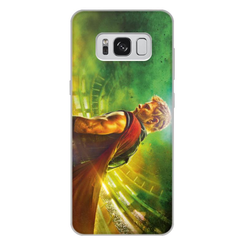 Чехол для Samsung Galaxy S8 Plus, объёмная печать Printio Тор рагнарёк