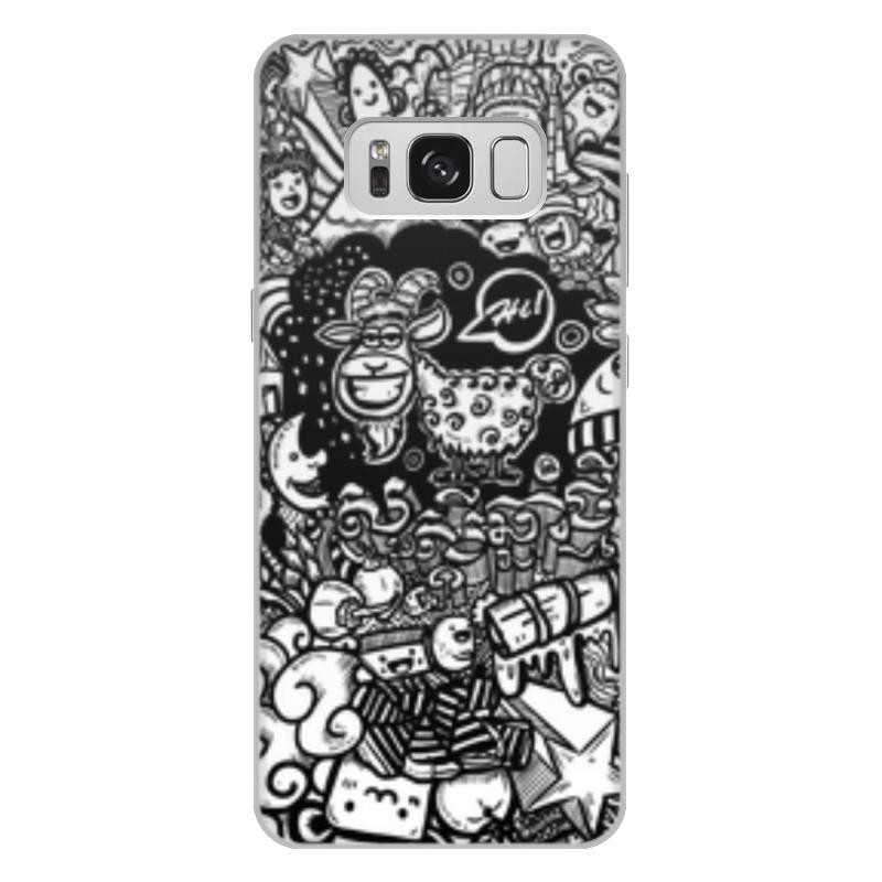 Чехол для Samsung Galaxy S8 Plus, объёмная печать Printio Иллюстрация чехол для samsung galaxy s8 plus объёмная печать printio лотос