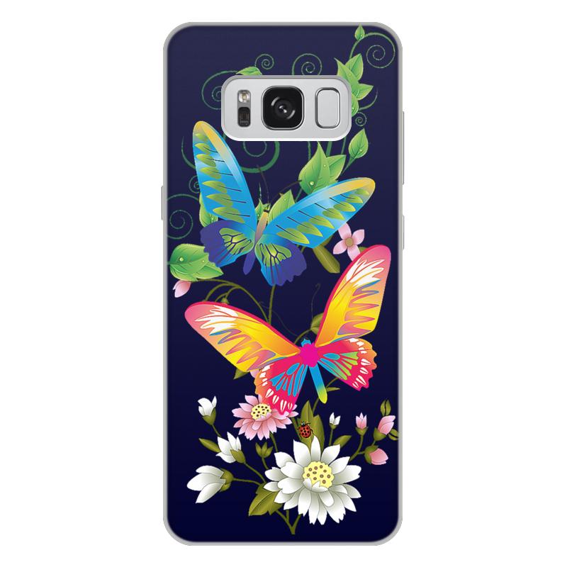 Чехол для Samsung Galaxy S8 Plus объёмная печать Printio Бабочки фэнтези