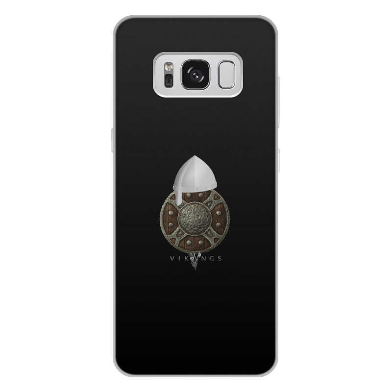Чехол для Samsung Galaxy S8 Plus, объёмная печать Printio Викинги. vikings