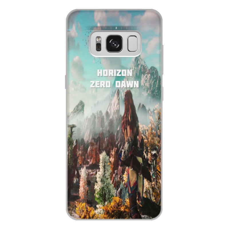 Чехол для Samsung Galaxy S8 Plus, объёмная печать Printio Horizon zero dawn