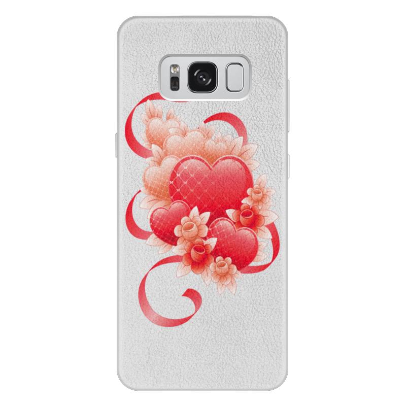 лучшая цена Чехол для Samsung Galaxy S8 Plus, объёмная печать Printio Любимой на 14 февраля