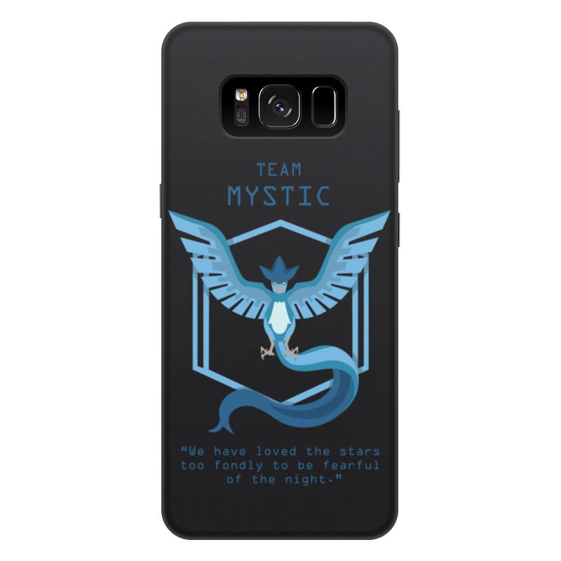 Чехол для Samsung Galaxy S8 Plus, объёмная печать Printio Team mystic
