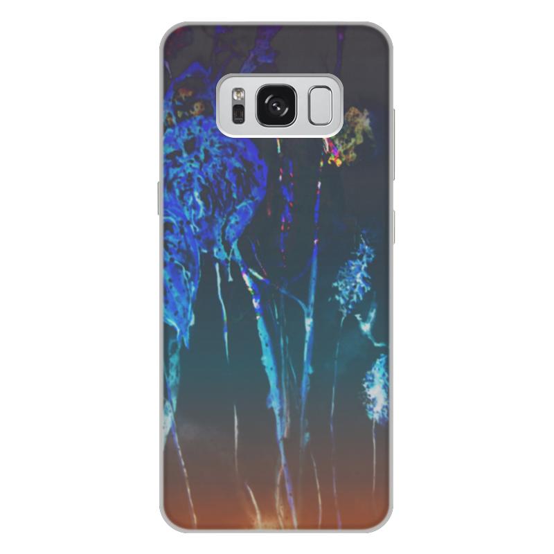 Чехол для Samsung Galaxy S8 Plus, объёмная печать Printio Светящийся физалис чехол для samsung galaxy s8 объёмная печать printio по мотивам произведений о гарри поттере