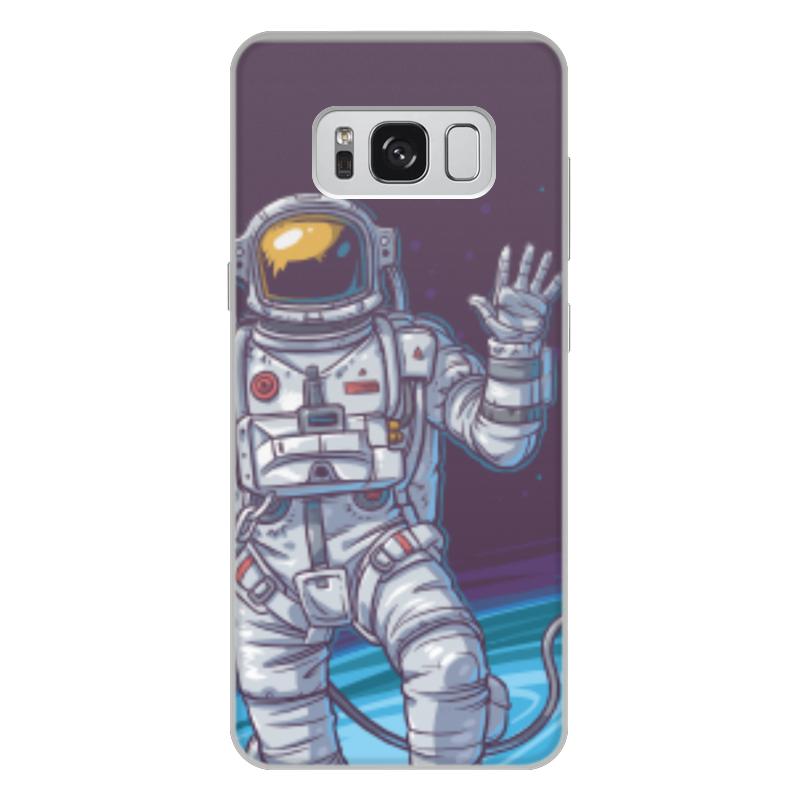 Чехол для Samsung Galaxy S8 Plus, объёмная печать Printio Space чехол для samsung galaxy s4 printio my space