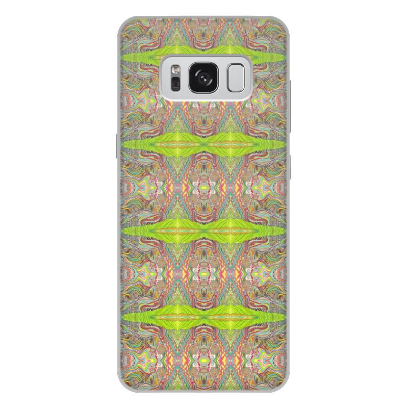 Чехол для Samsung Galaxy S8 Plus, объёмная печать Printio Ом дракон узоры 01 сам