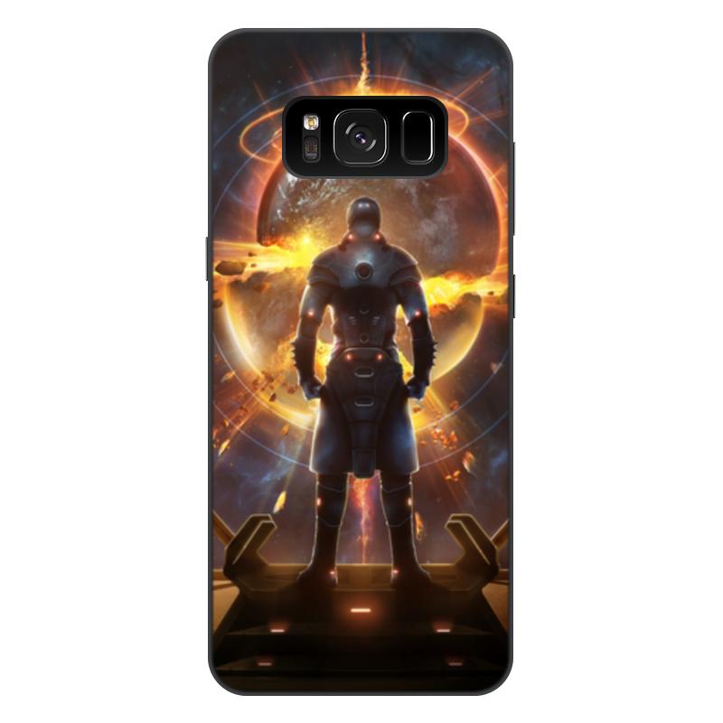 лучшая цена Чехол для Samsung Galaxy S8 Plus, объёмная печать Printio Starpoint gemini warlords