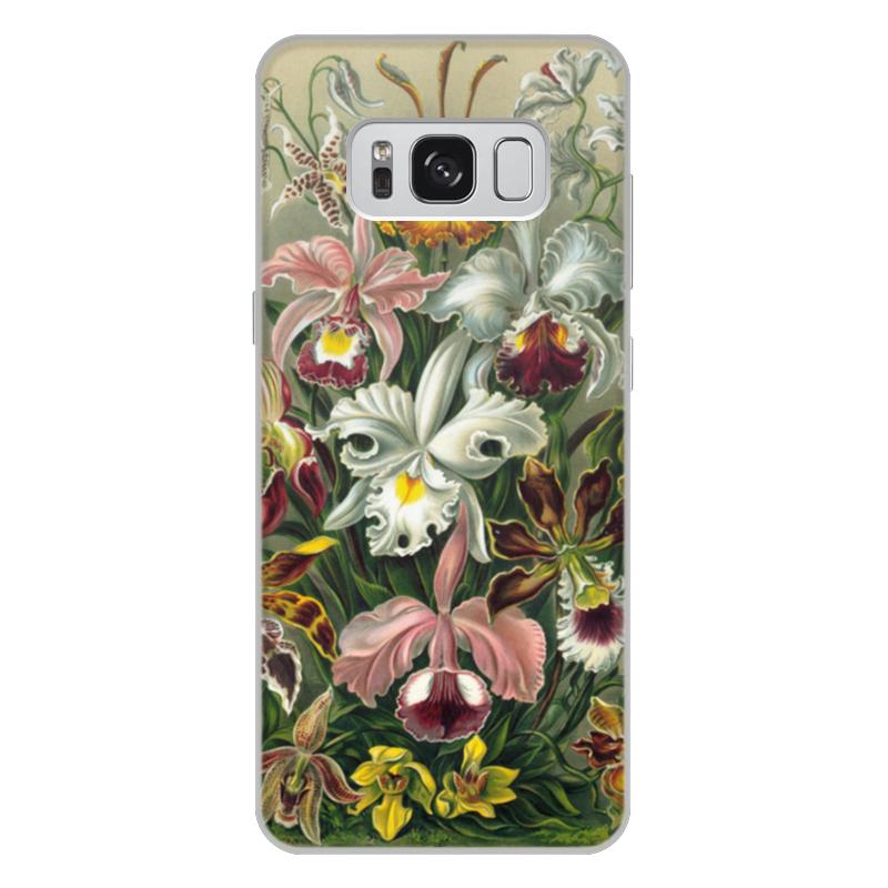 Чехол для Samsung Galaxy S8 Plus, объёмная печать Printio Орхидеи эрнста геккеля кружка цветная внутри printio любимой маме орхидеи эрнста геккеля