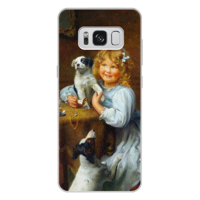 Чехол для Samsung Galaxy S8 Plus, объёмная печать Printio Картина артура элсли (1860-1952) шоколадка 35х35 printio картина артура элсли 1860 1952