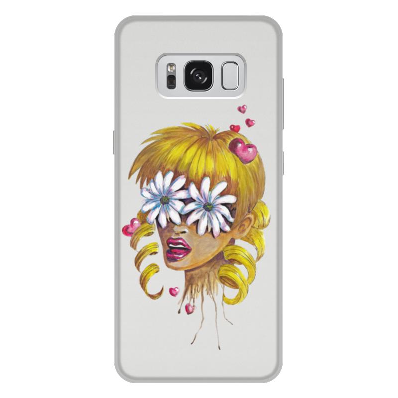 Чехол для Samsung Galaxy S8 Plus, объёмная печать Printio Без ума от цветов samsung otkajetsia ot pentile diamond v polzy rgb matricy v galaxy s8