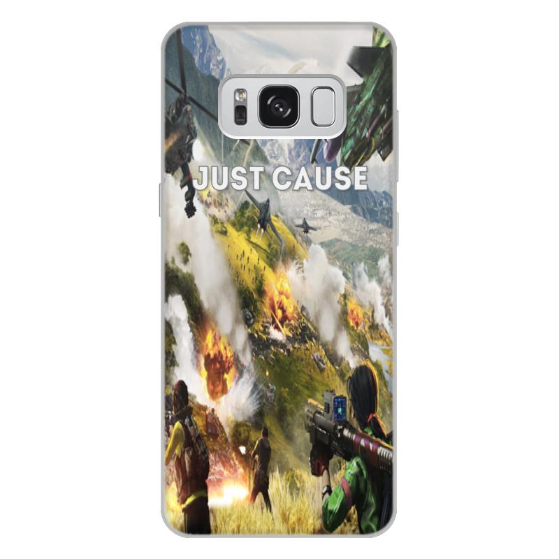 Чехол для Samsung Galaxy S8 Plus, объёмная печать Printio Just cause