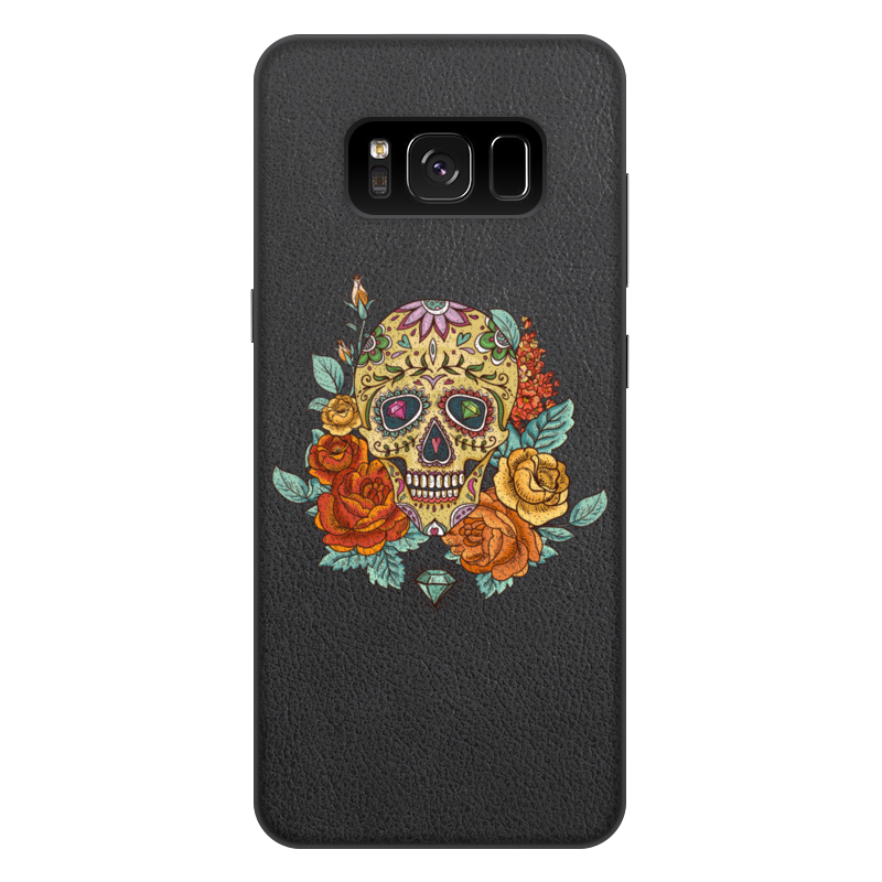 Чехол для Samsung Galaxy S8 Plus, объёмная печать Printio Череп чехол для samsung galaxy s5 printio череп художник