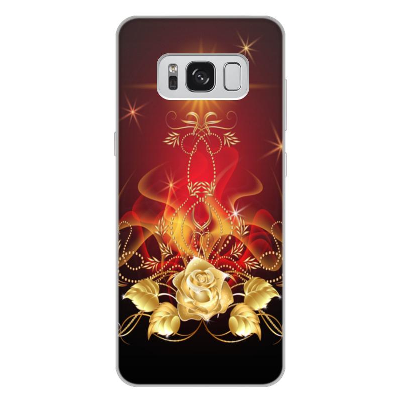 Printio Золотая роза чехол для iphone 7 plus объёмная печать printio золотая роза