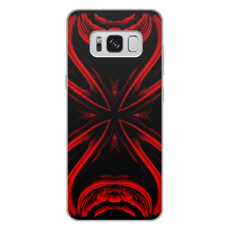 Чехол для Samsung Galaxy S8 Plus, объёмная печать Printio Красная ртуть замок навесной matrix с защищенной дужкой