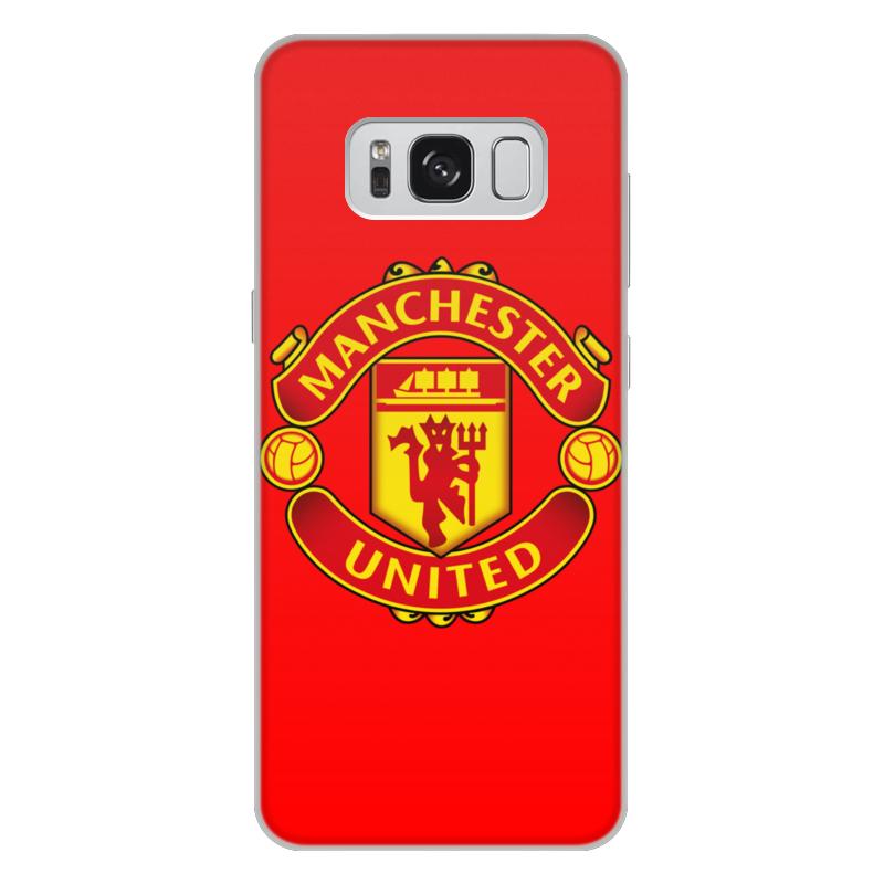 Чехол для Samsung Galaxy S8 Plus, объёмная печать Printio Манчестер