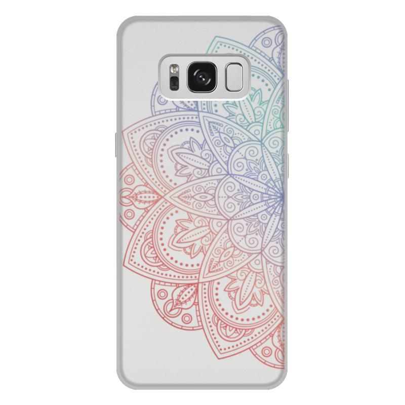 Чехол для Samsung Galaxy S8 Plus, объёмная печать Printio Мандала чехол для samsung galaxy s8 plus объёмная печать printio лотос