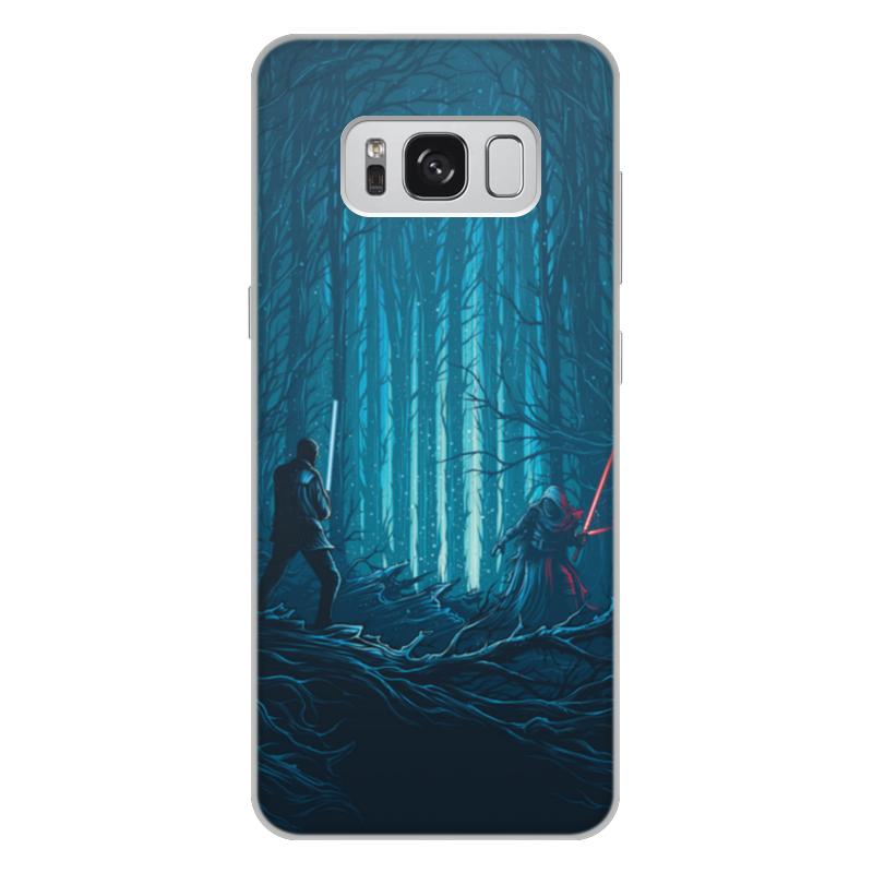 Чехол для Samsung Galaxy S8 Plus, объёмная печать Printio Звездные войны медведь дизайн pu кожа флип кошелек карты держатель чехол для samsung galaxy s8 plus s8 edge