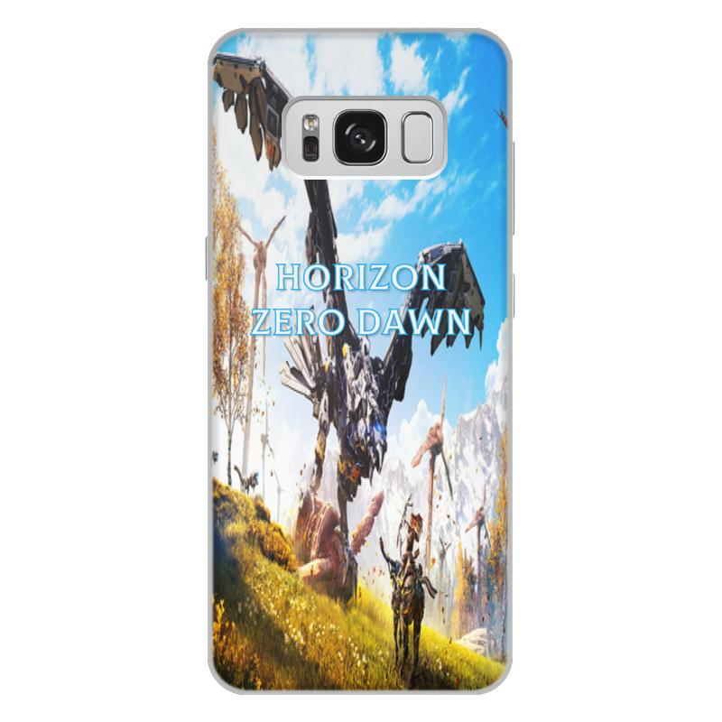 лучшая цена Чехол для Samsung Galaxy S8 Plus, объёмная печать Printio Horizon zero dawn