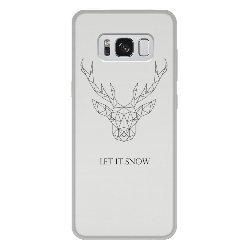 Чехол для Samsung Galaxy S8 Plus, объёмная печать Printio Dear deer рубашка banana republic banana republic ba067embdjf5