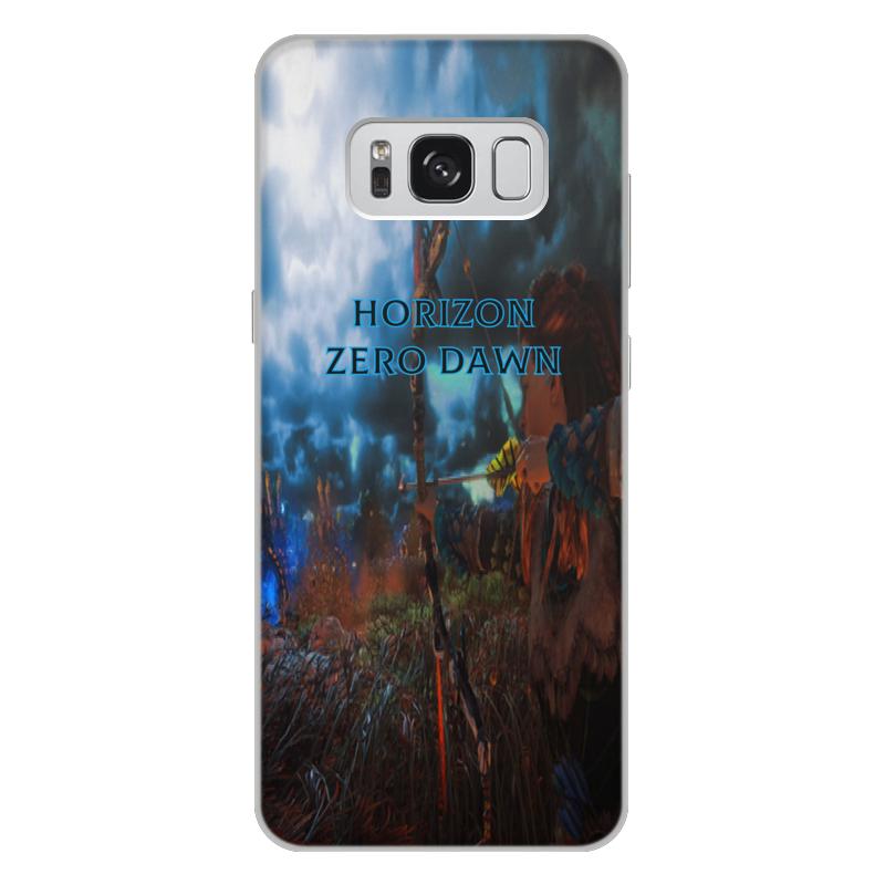 Чехол для Samsung Galaxy S8 Plus, объёмная печать Printio Horizon zero dawn аксессуар чехол накладка для samsung galaxy s8 plus gecko silicone black s geska sam s8 plus bl
