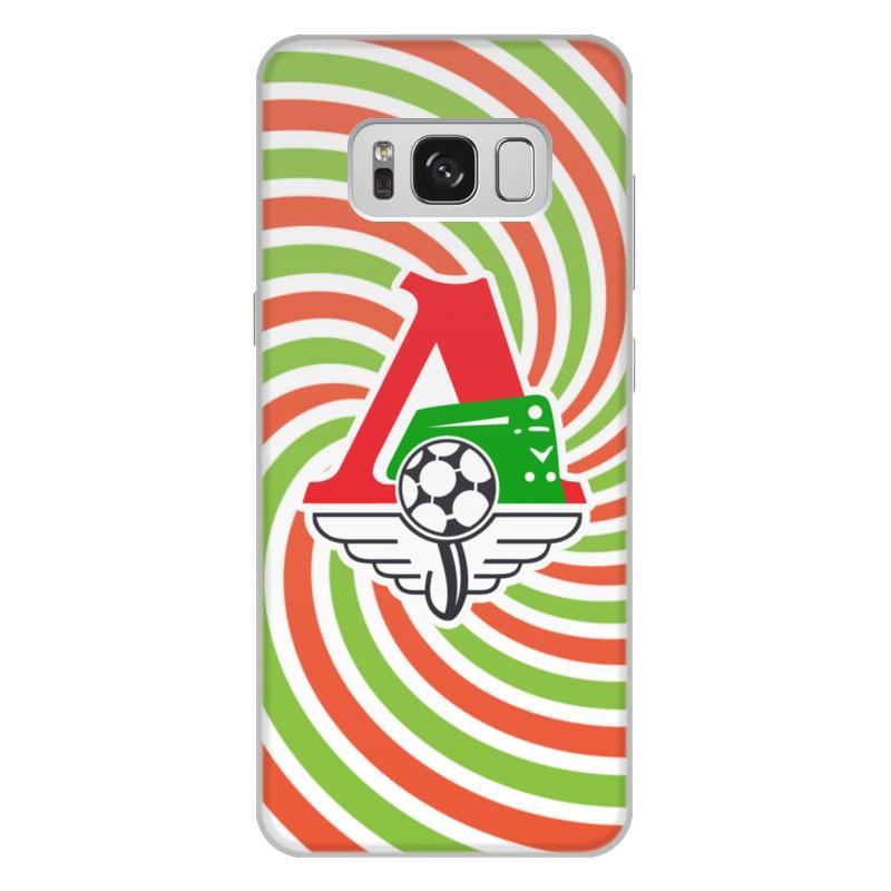 Чехол для Samsung Galaxy S8 Plus объёмная печать Printio Локомотив