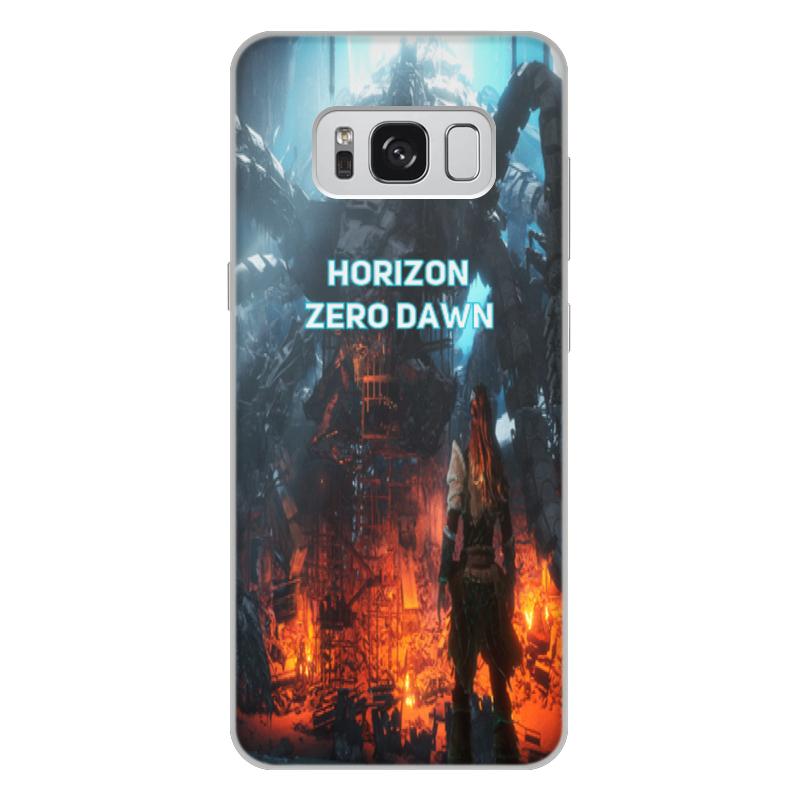 Чехол для Samsung Galaxy S8 Plus, объёмная печать Printio Horizon zero dawn аксессуар чехол для samsung galaxy s9 plus pero soft touch red prstc s9pr