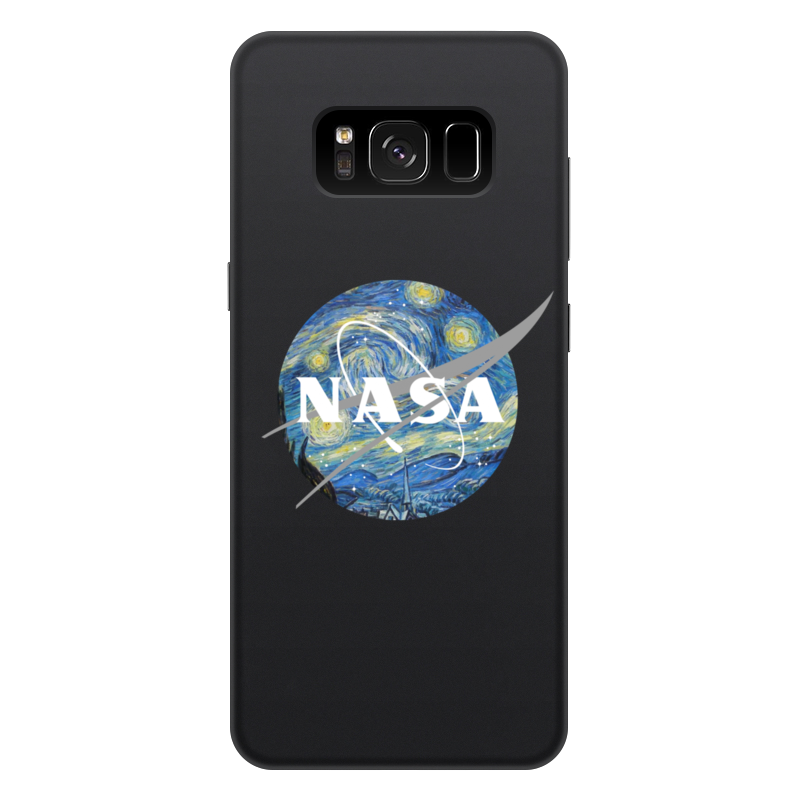 Чехол для Samsung Galaxy S8 Plus, объёмная печать Printio /nasa аксессуар чехол для samsung galaxy s8 plus pero soft touch black prstc s8pb