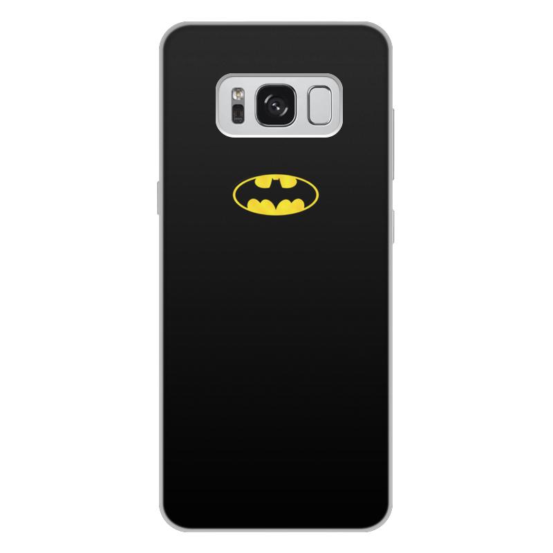 Чехол для Samsung Galaxy S8 Plus, объёмная печать Printio Бэтмен / batman чехол для ноутбука 14 printio бэтмен